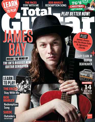 Total Guitar issue December 2015
