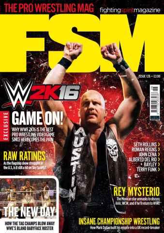 Fighting Spirit Magazine issue Issue 126
