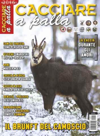 CACCIARE A PALLA issue Novembre 2015