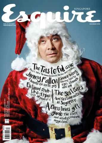 Esquire Singapore issue December 2015