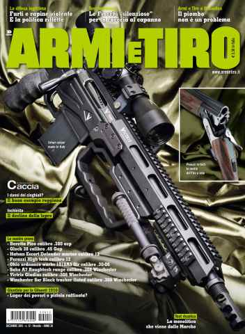 Armi E Tiro issue Armi e Tiro 12/2015