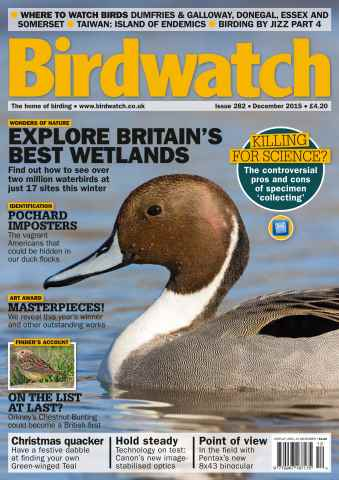 Birdwatch Magazine issue December 2015