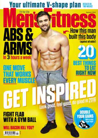 Men's Fitness issue January 2016