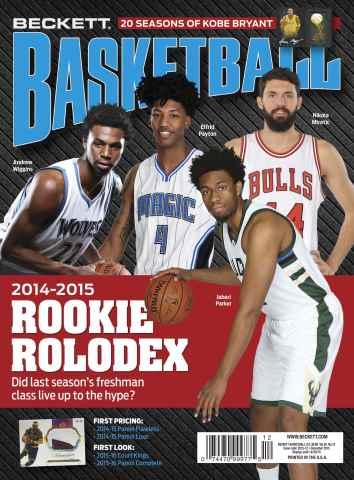 Beckett Basketball issue December 2015