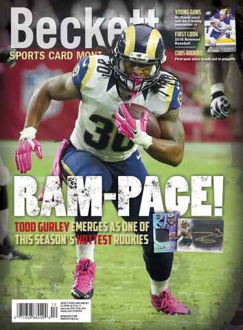 Sports Card Monthly issue  December 2015