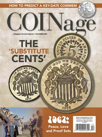 COINage issue December 2015