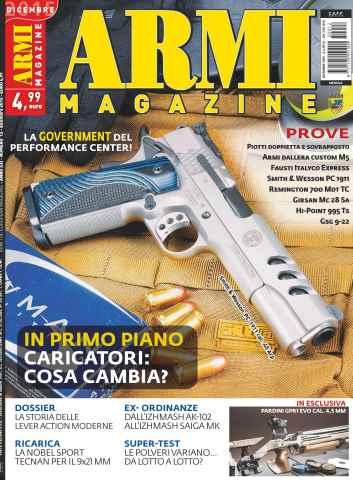 ARMI MAGAZINE issue Dicembre 2015