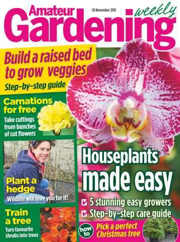 Amateur Gardening issue 28th November 2015