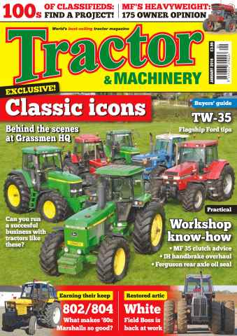 Tractor & Machinery issue Vol. 22 No. 2 Classic Icons