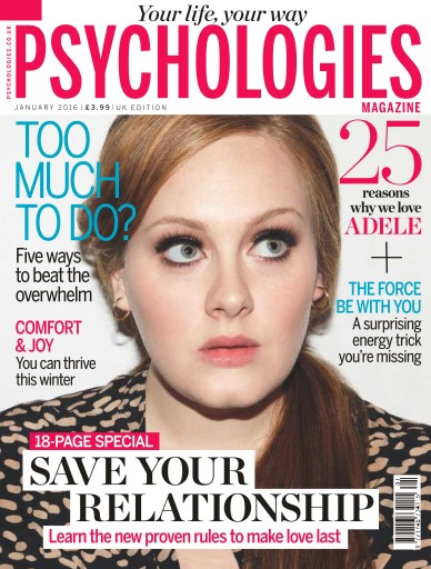 Psychologies issue No. 124 Too Much To Do?