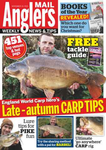 Anglers Mail issue 24th November 2015