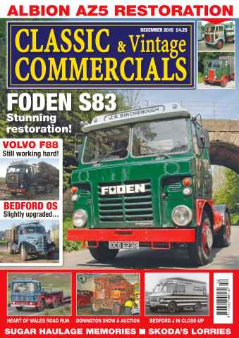 Classic & Vintage Commercials issue Vol. 21 No. 4 Foden S83