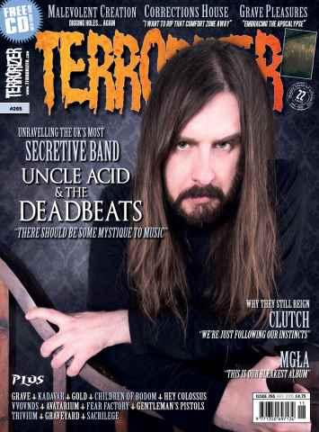 Terrorizer Magazine issue Terrorizer 265