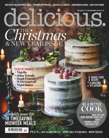 Delicious Magazine issue December 2015