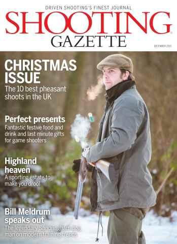 Shooting Gazette issue December 2015