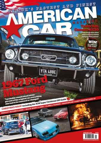 American Car Magazine issue January 2016