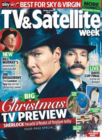 TV & Satellite Week issue 28th November 2015