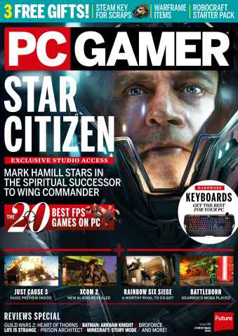 PC Gamer (UK Edition) issue Xmas 2015