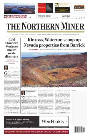 The Northern Miner issue Vol. 101 No. 41