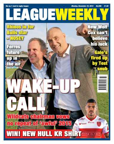 League Weekly issue 22/11/2015