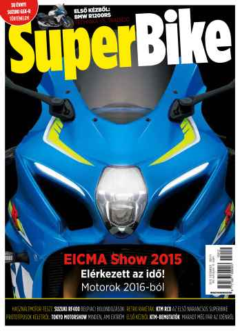 Superbike Hungary issue dec.2015