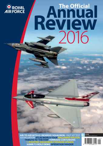 Aviation Specials issue RAF Annual 2016