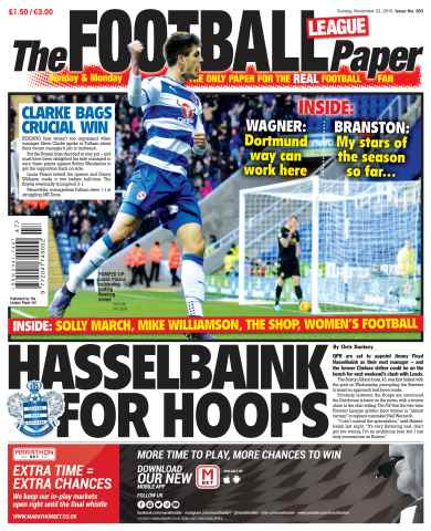 The Football League Paper issue 22nd November 2015