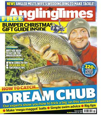 Angling Times issue 24th November 2016