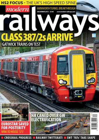 Modern Railways issue December 2015