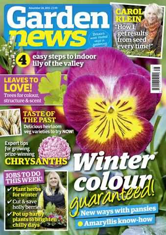 Garden News issue 28th November 2015