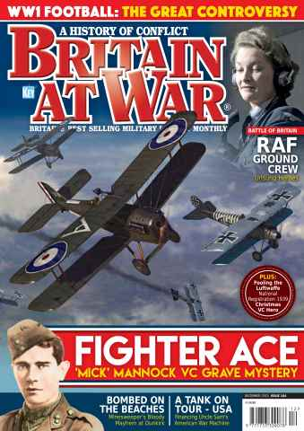 Britain at War Magazine issue December 2015