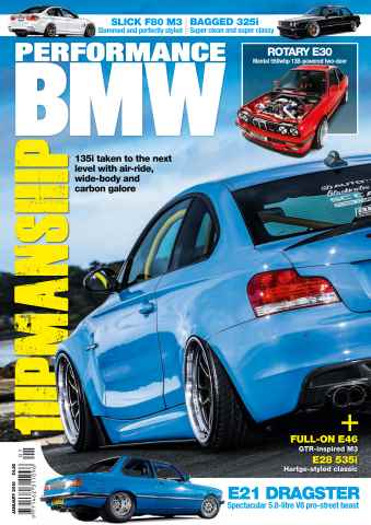 Performance BMW issue January 16