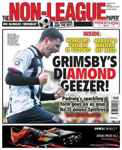 The Non-League Football Paper issue 22nd November 2015