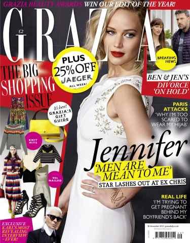 Grazia issue 30th November 2015