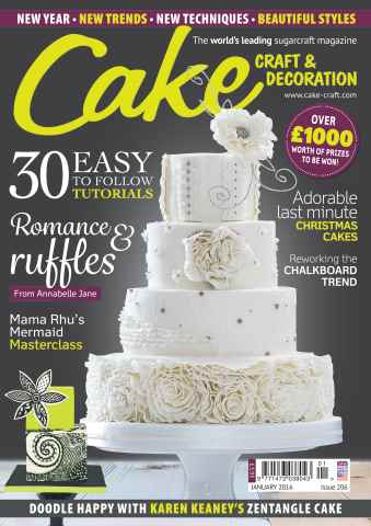 Cake Craft and Decoration Magazine issue January 2016