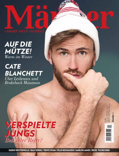 MÄNNER issue Männer 12.15 Dezember