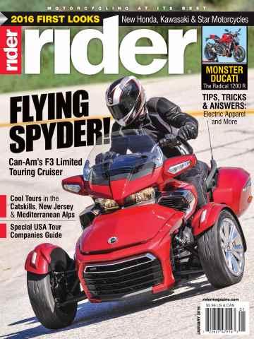 Rider Magazine issue January 2016