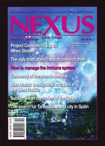 Nexus Magazine issue Dec 2015 - Jan 2016