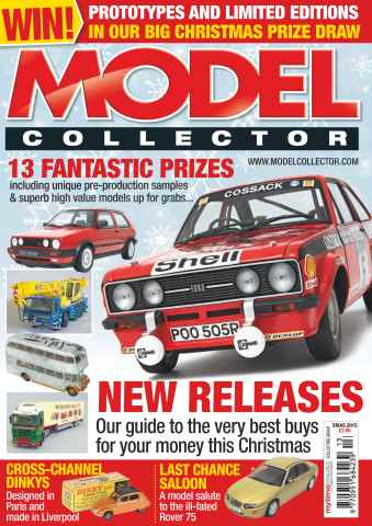 Model Collector issue Xmas 2015