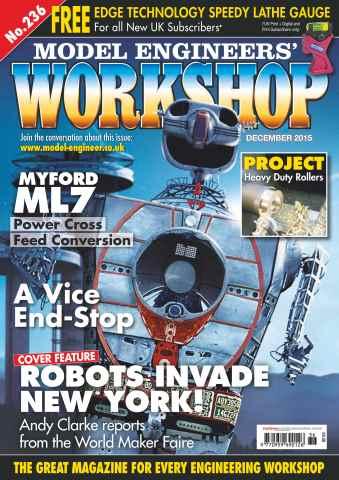 Model Engineers' Workshop Magazine issue December 2015