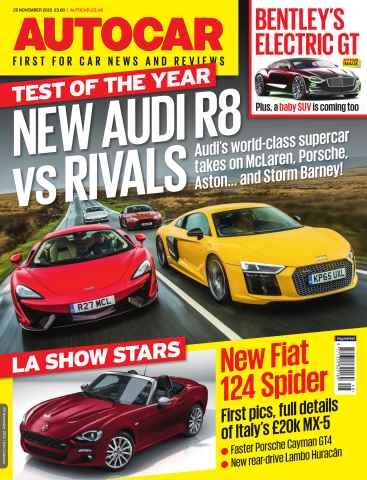 Autocar issue 25th November 2015