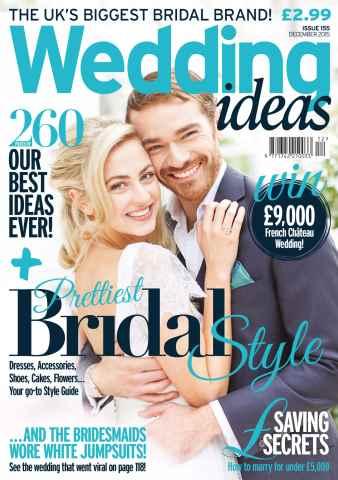 Wedding Ideas magazine issue December 2015