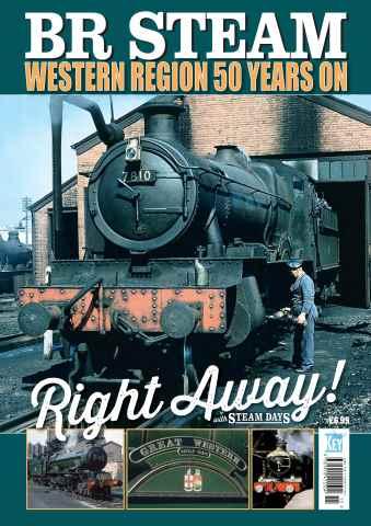 Aviation Specials issue BR Steam Western Region 50 Years On