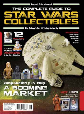Sports Card Monthly issue Star Wars Collectibles 2015