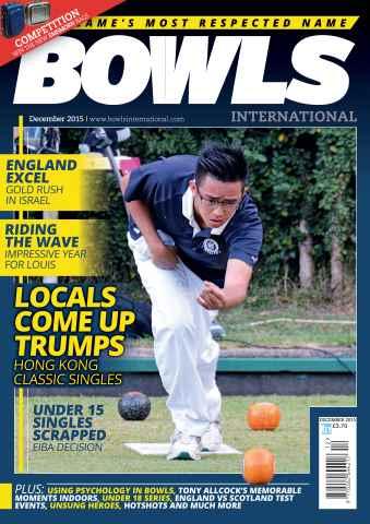 Bowls International issue December 2015