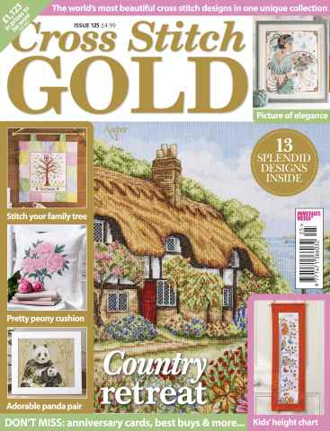 Cross Stitch Gold issue December 2015