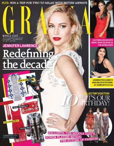 Grazia Middle East issue 25 November 2015
