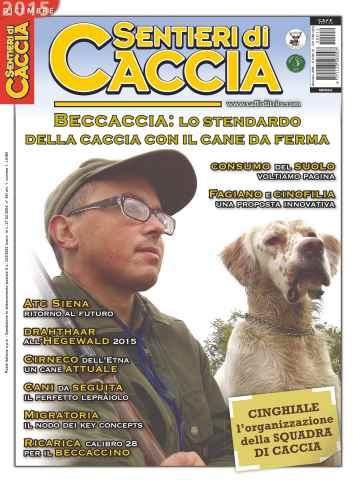 SENTIERI DI CACCIA issue Dicembre 2015
