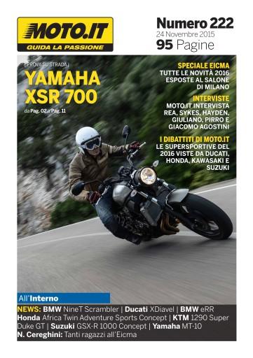 Moto.it Magazine issue Moto.it Magazine n. 222