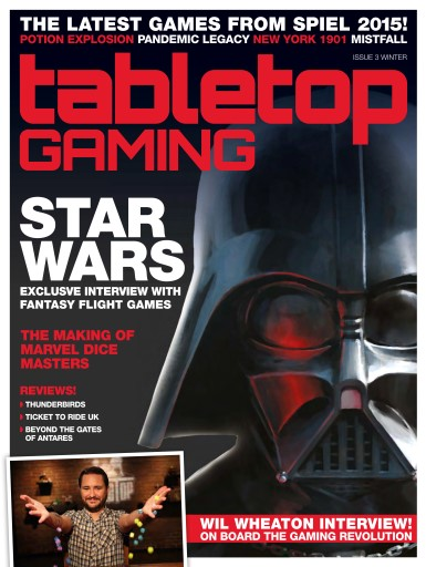 Tabletop Gaming issue Issue Three